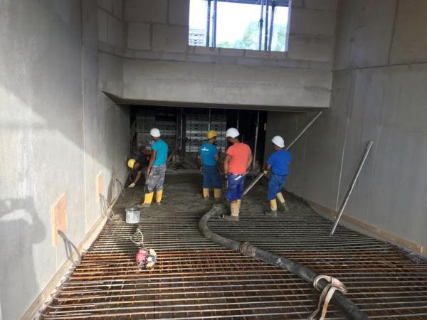 ALCASA Industriefussböden GmbH Bauvorhaben Tarpenbeker Ufer